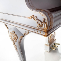 Акустический рояль Petrof Style Collection P173 Breeze Rococo White - фото 3