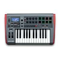 Midi клавиатура NOVATION Impulse 25