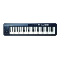 Midi клавиатура M-Audio Keystation 61 II